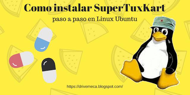 Como instalar SuperTuxKart en Ubuntu Linux