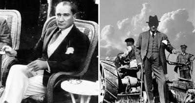 Atatürk takım elbisesi ile