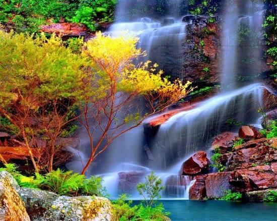 Fondos de pantalla de hermosos paisajes de cascadas for Buscar fondo de pantallas gratis