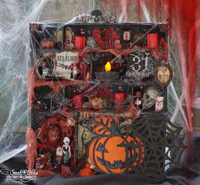 Хэллоуин уже близко, а я готовиться не буду, только Домик покажу =)