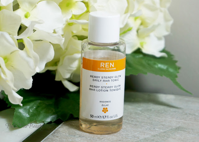 Ren Ready Steady Glow Daily AHA Tonic | bellanoirbeauty.com