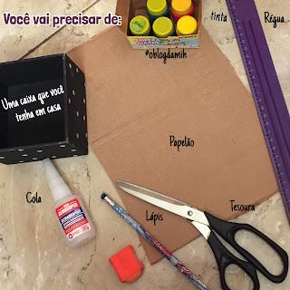 DIY - Porta Pinceis De Maquiagem