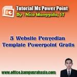 5 Website Penyedia Template Presentasi Powerpoint yang Bisa Anda Download secara Gratis