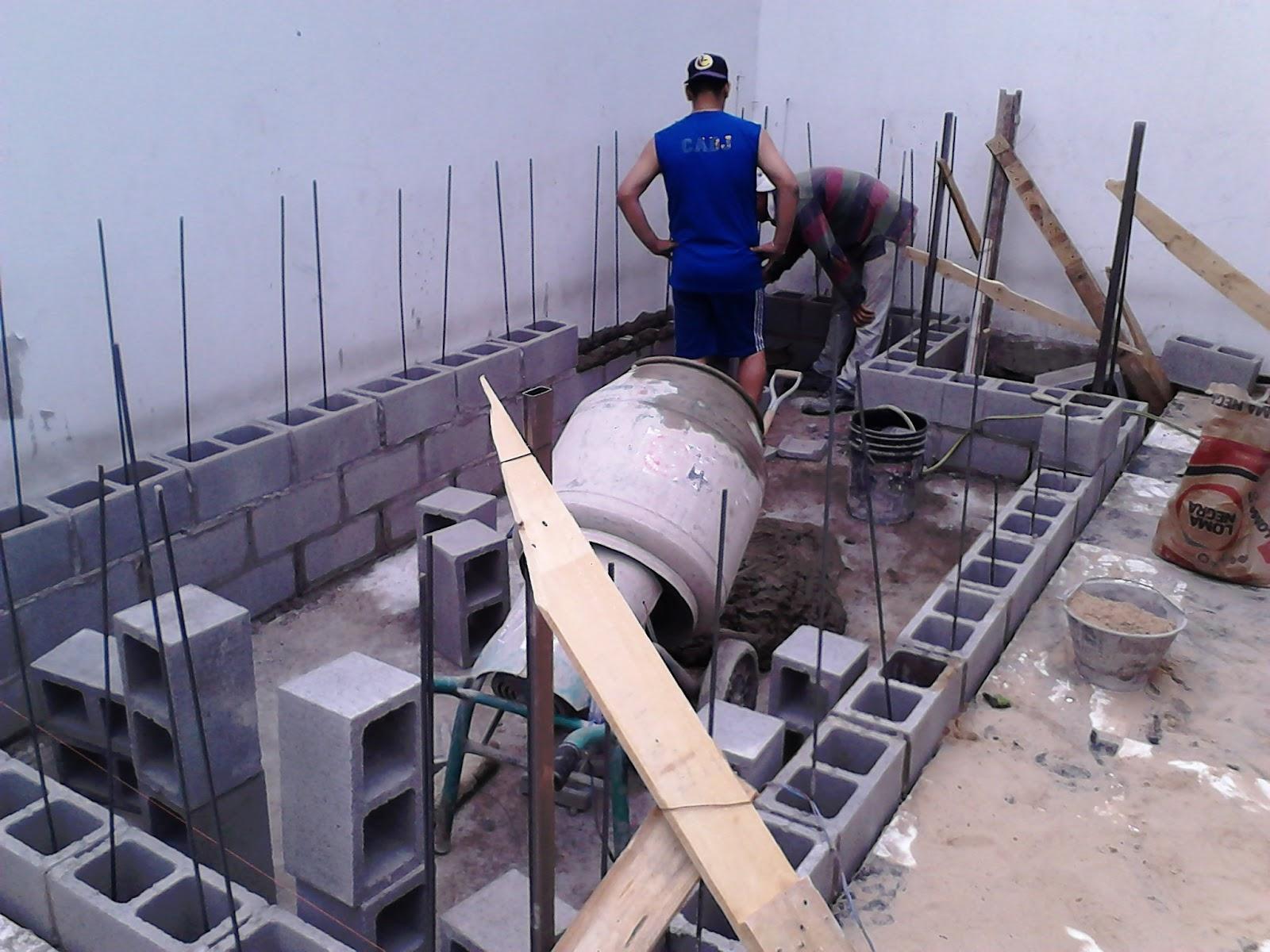 Arq martin arevalo arquitectura construcciones for Como hacer una piscina con bloques