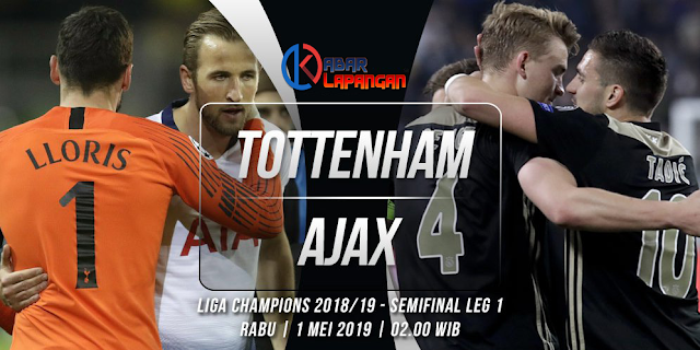 Prediksi Bola Tottenham Hotspur vs Ajax Liga Champions