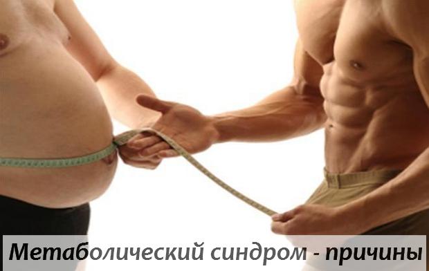Метаболический синдром - причины