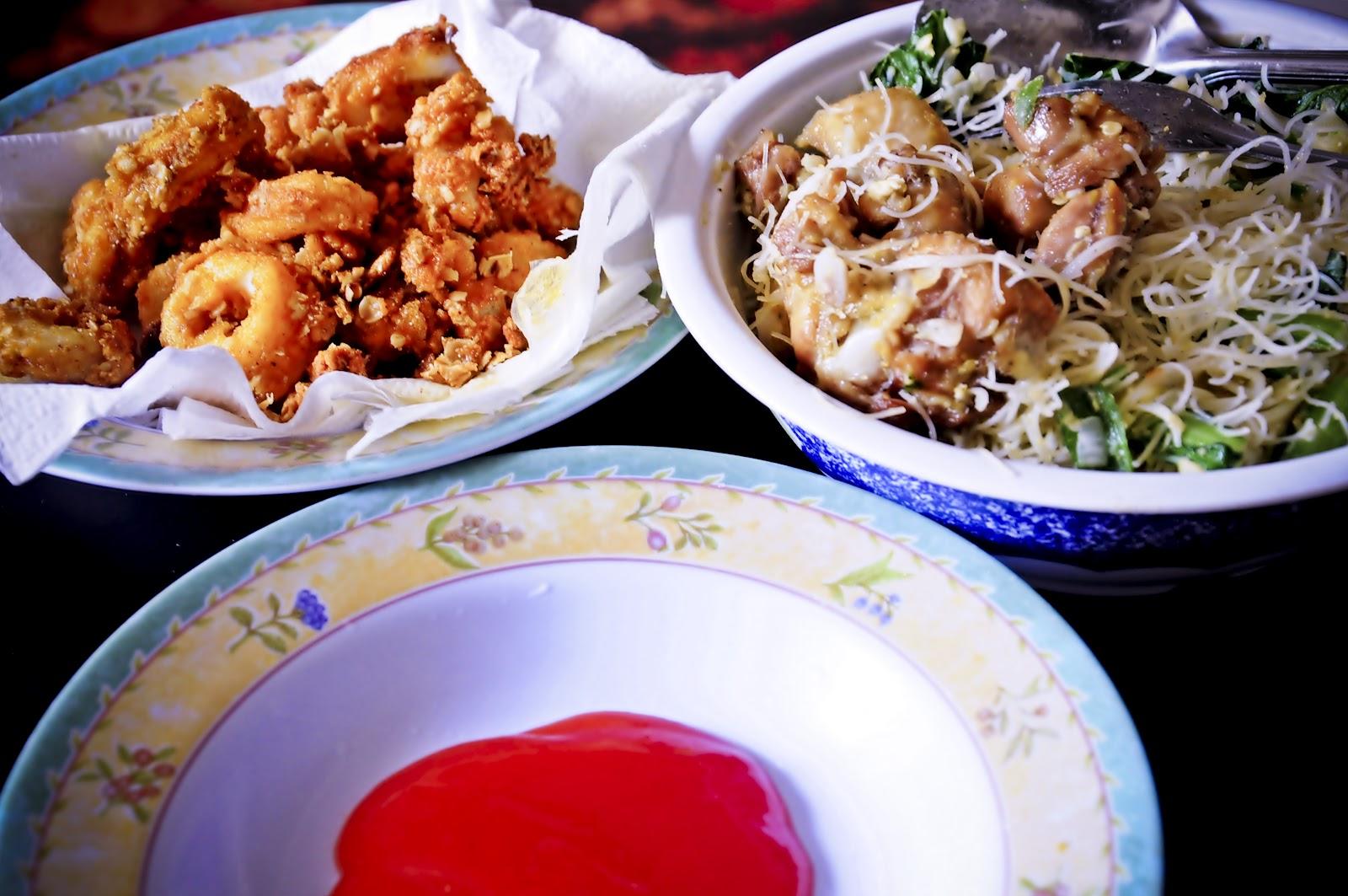 Dapur Bujang Bihun Goreng Cina Sotong Ber Oat