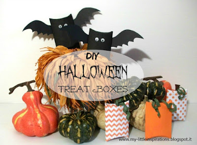 Halloween Treat Boxes DIY - My Little Inspirations
