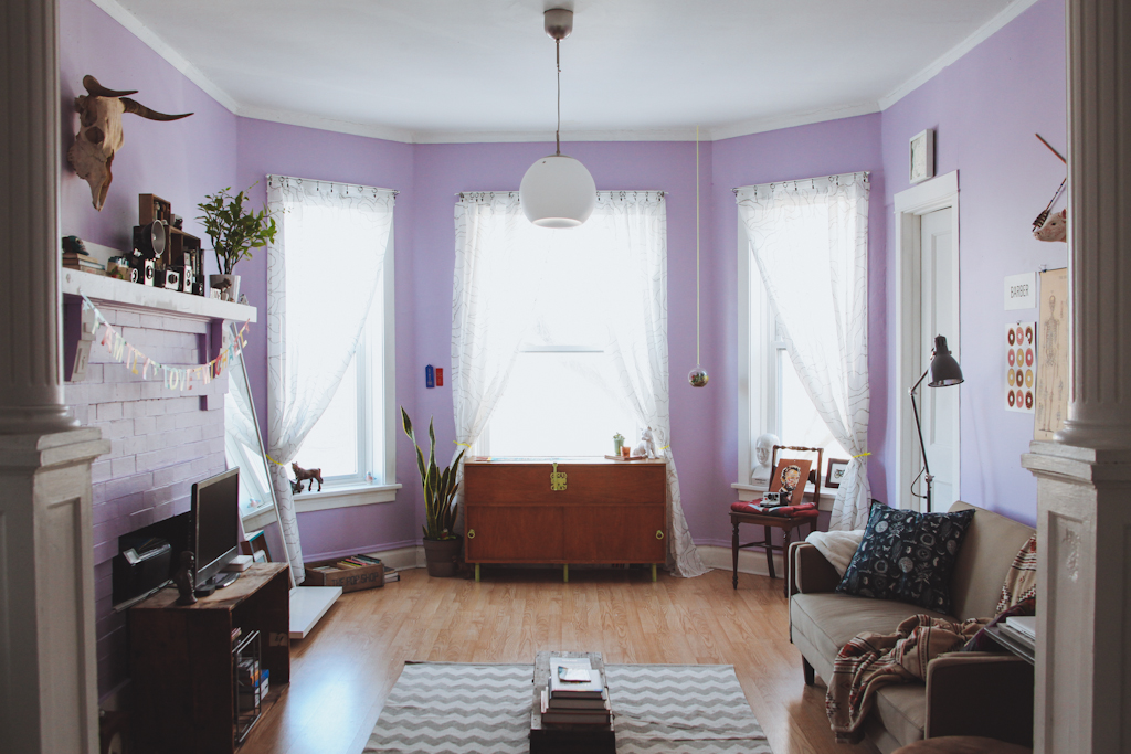 Mini penny candyland - How to divide a living room into a bedroom ...