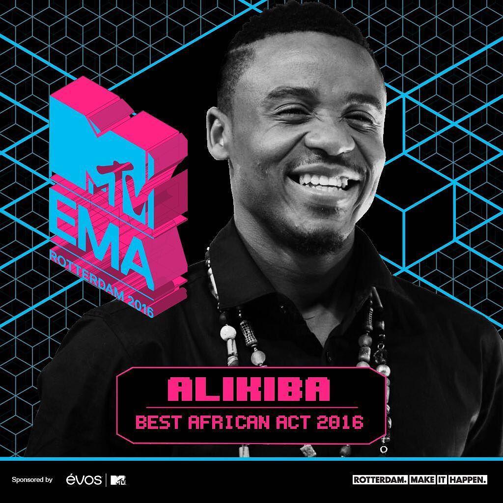Alikiba MTV EMA Best African Act