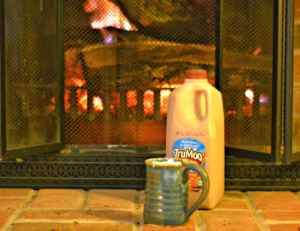 Hot #TruMoo Chocolate Marshmallow milk!