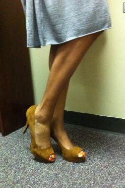 size 12 nude high heels