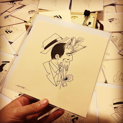 MondoCon 3 Exclusive Dick Tracing Original Drawings by Alex Pardee