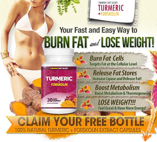 Turmeric Forskolin ''Shark Tank'' Naturally Burns Fat Pills
