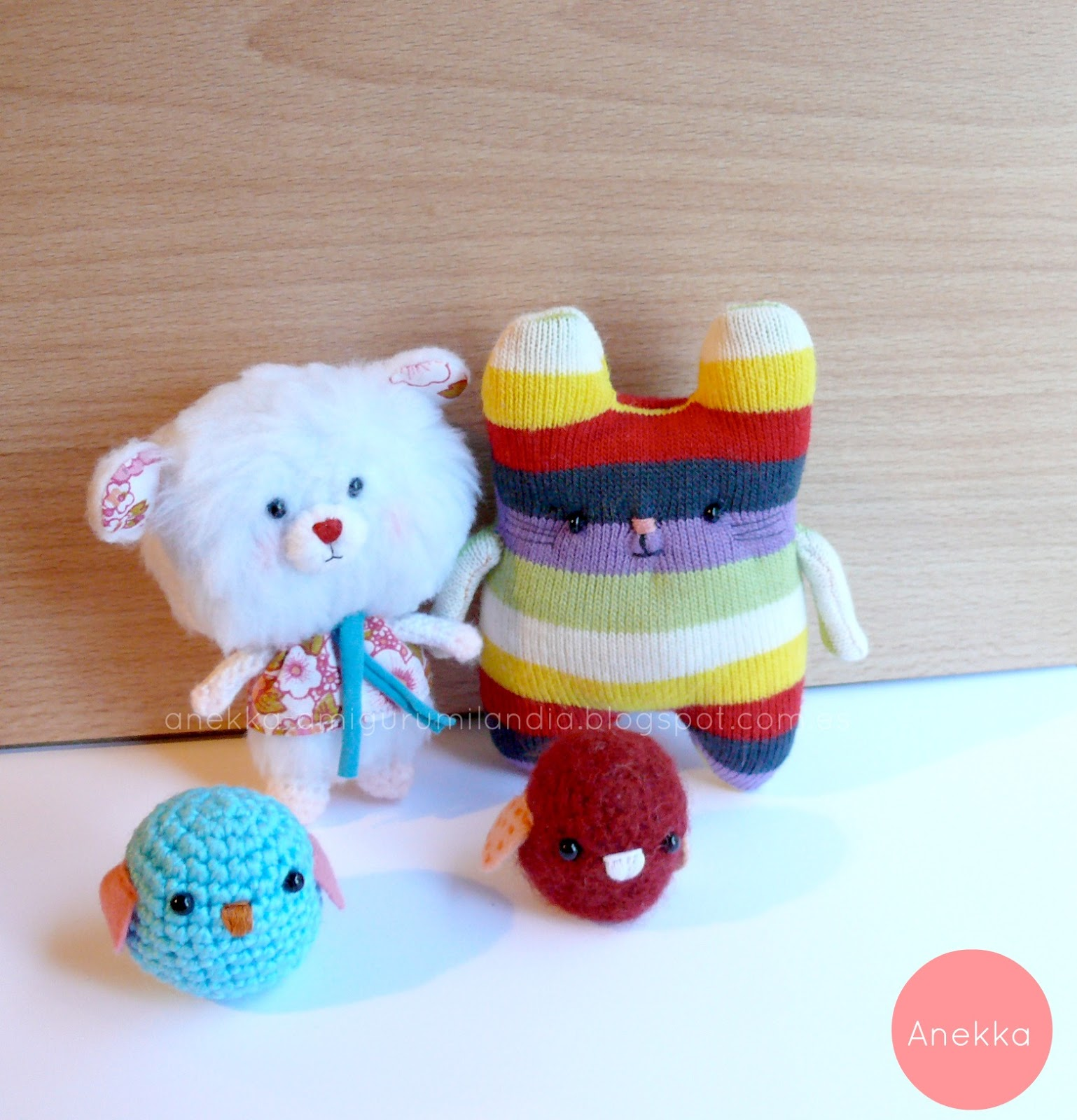 plush doll softie amigurumilandia