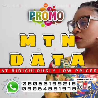 MTN, Data, Promo, Xpino Media Network, Nigeria, Lagos