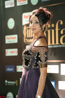 Sanjjanaa Galrani aka Archana Galrani in Maroon Gown beautiful Pics at IIFA Utsavam Awards 2017 38.JPG