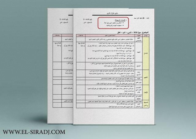 مرشدي في التربية الإسلامية للمستوى الثاني