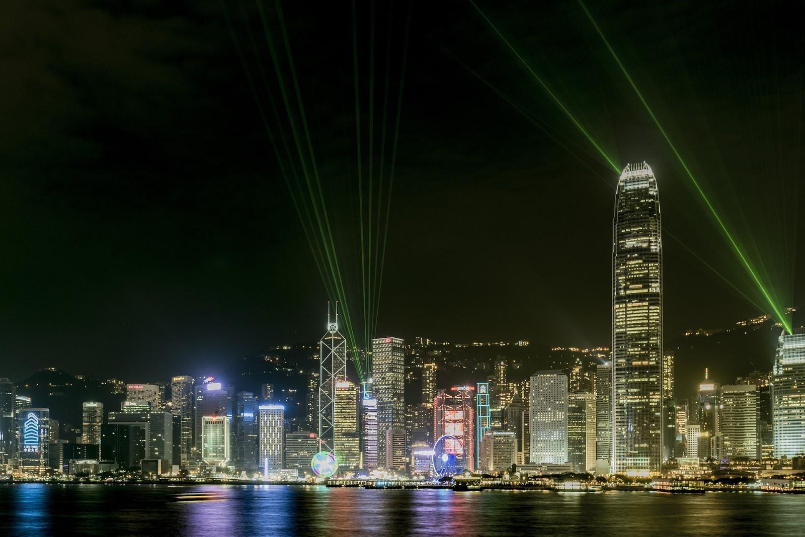 Hongkong City - Wallpaper free architecture-modern-skyscraper
