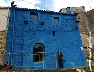 instalacao bolognano guia De roma portugues - Santo de casa não faz milagre - Joseph Beuys em Bolognano
