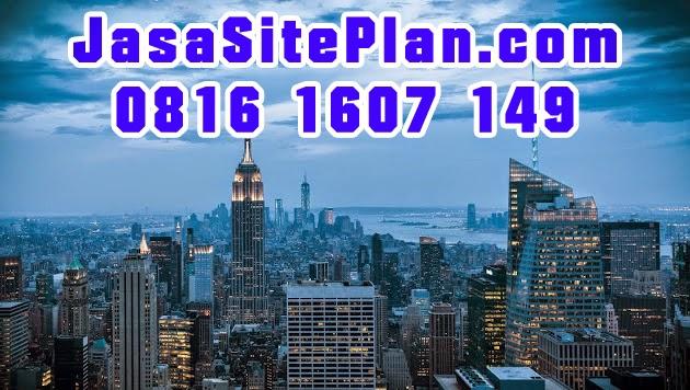 site plan perumahan