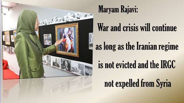 MARYAM RAJAVI: CHEMICAL ATTACK ON IDLIB IS A MAJOR WAR CRIME; THOSE RESPONSIBLE MUST BE BROUGHT TO JUSTICE