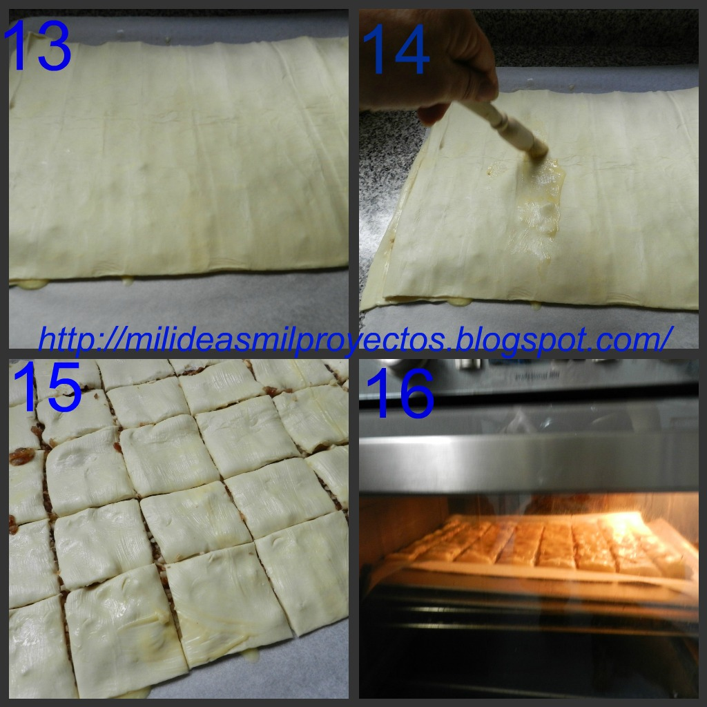 preparacion de baklava dulce turco