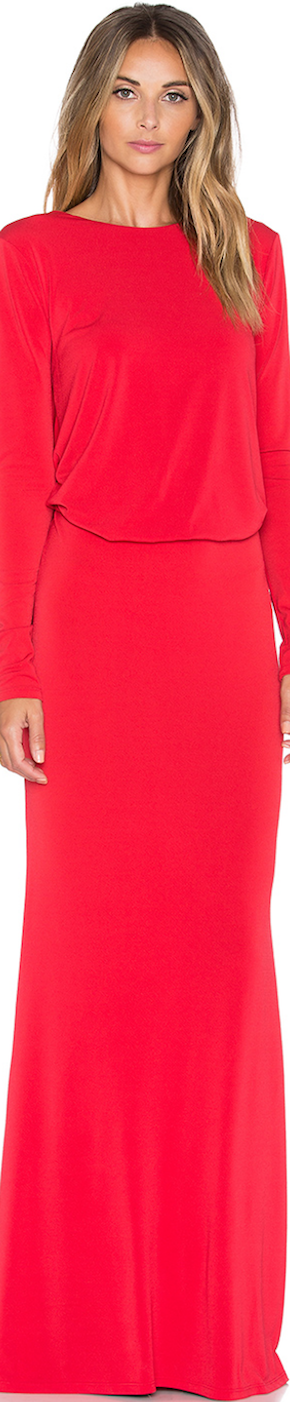 Rachel Zoe Maurie Maxi Dress Red
