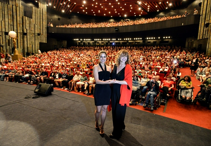 Julieta en el Grand Hall de Karlovy Vary