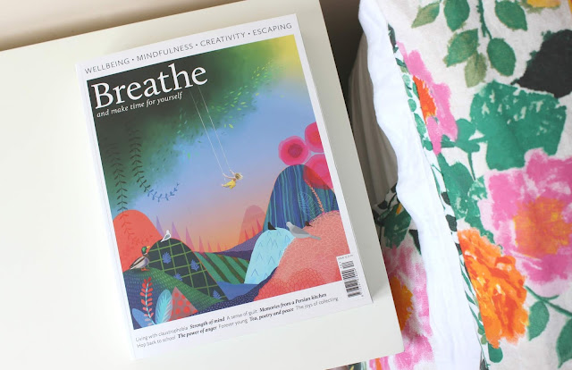 A review of Breathe magazine for mindfulness and wellbeing