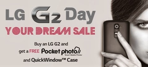 LG G2 Day 'Your Dream Sale'