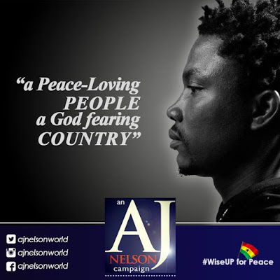 "AJ Nelson Launches ""Wise Up For Peace"" Campaign"