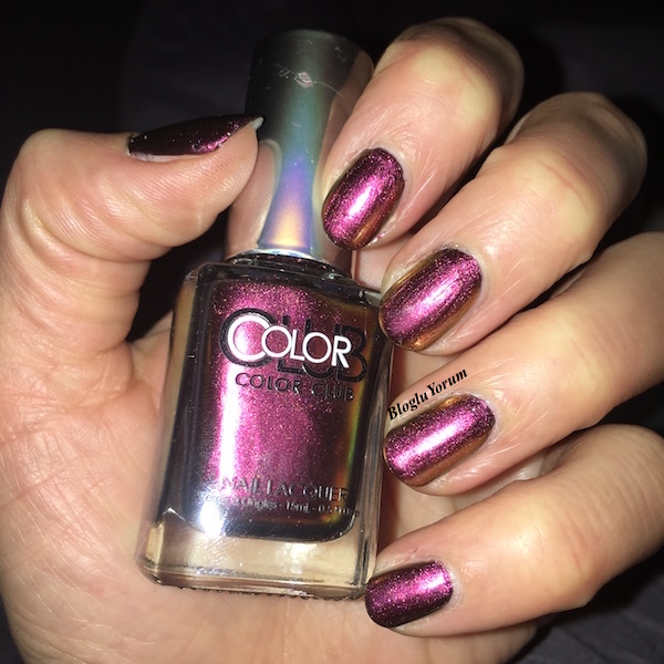 color club burnt out hologram oje incelemesi 5