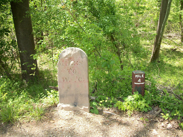 Original C&O Canal Mile Markers