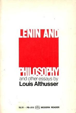 Louis Althusser - Lenin and Philosophy