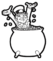 St Patrick's day 2018 children's coloring pages