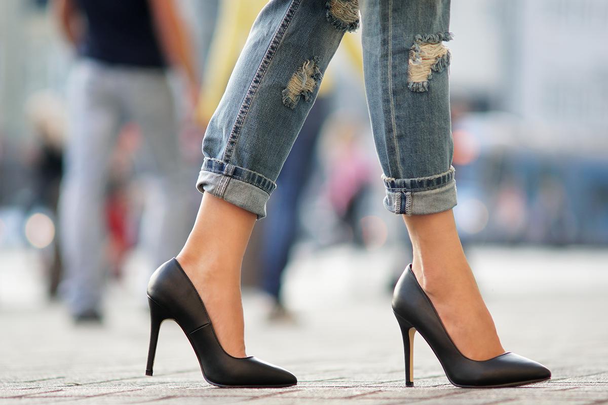 New Yorker heels
