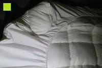 Knick: MESANA Premium Matratzen-Schoner | Größe: 140x200 cm, Höhe: 27cm | weiß aus Soft Touch Microfaser | 100% Polyester | Matratzen-Auflage auch für Ihr Boxspring-Bett und Wasserbett | Unter-Bett