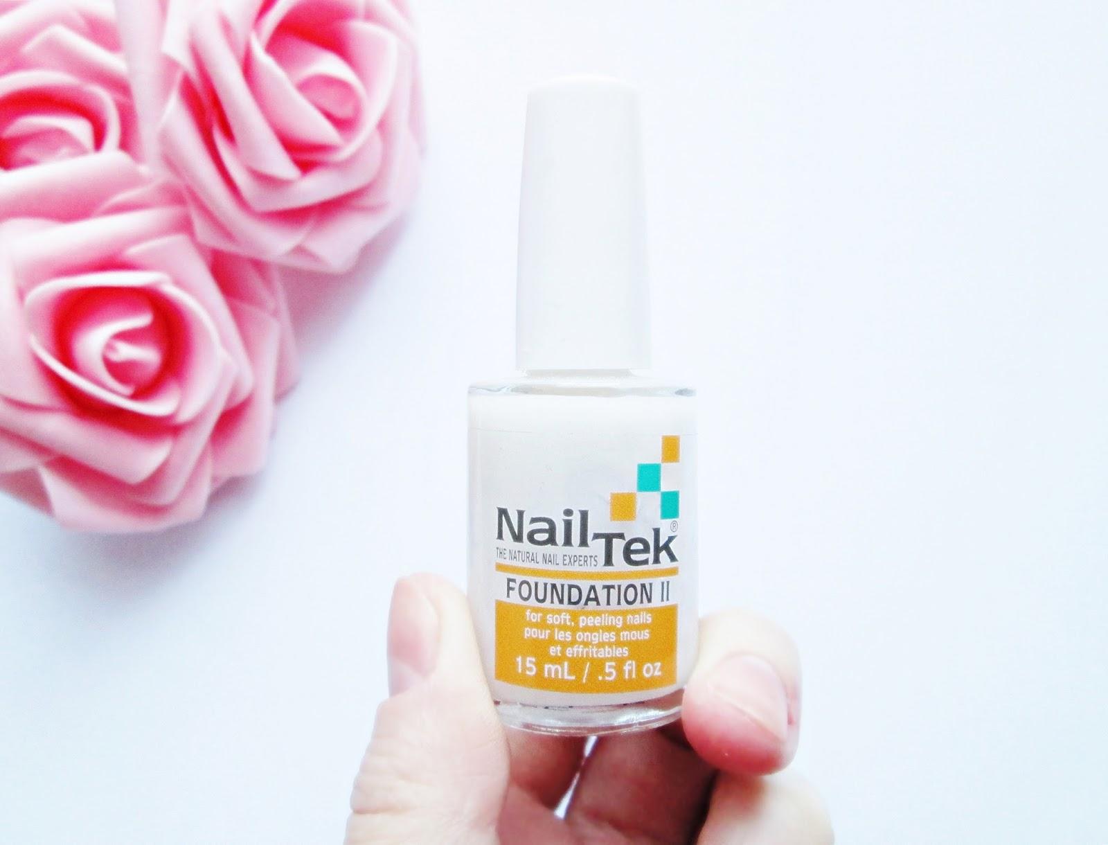 Nail Tek II odżywka podkładowa do paznokci cienkich i miękkich