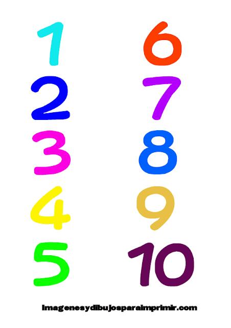 números del memorama