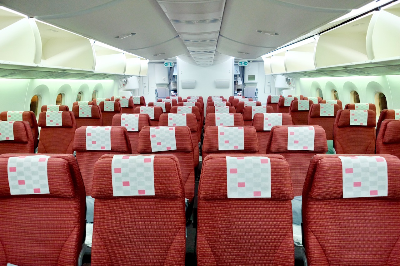 Japan Airlines Boeing 787-9 Economy Class Interior