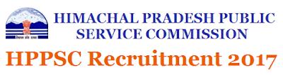 HPPSC Recruitment 2017