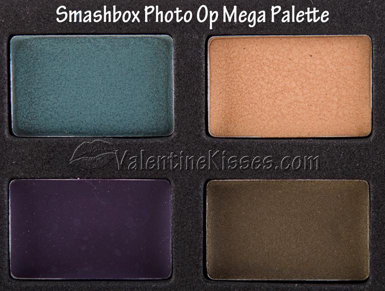 Valentine Kisses Smashbox Photo Op Mega Palette lots of