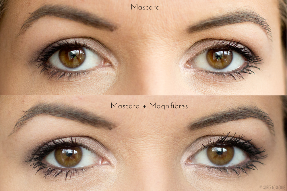 f356b28c5c2 At this point your lashes look rather white, so you add another coat of  your mascara and it's as simple as that!