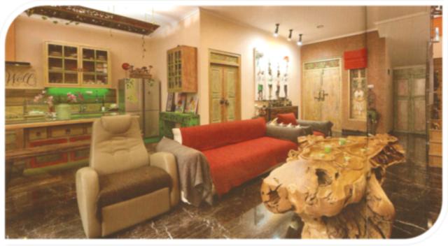 Ruang Tamu Rumah Ade Rai
