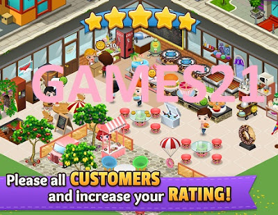 Screenshot Cafeland World Kitchen Mod Apk