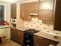 Вместительная кухня