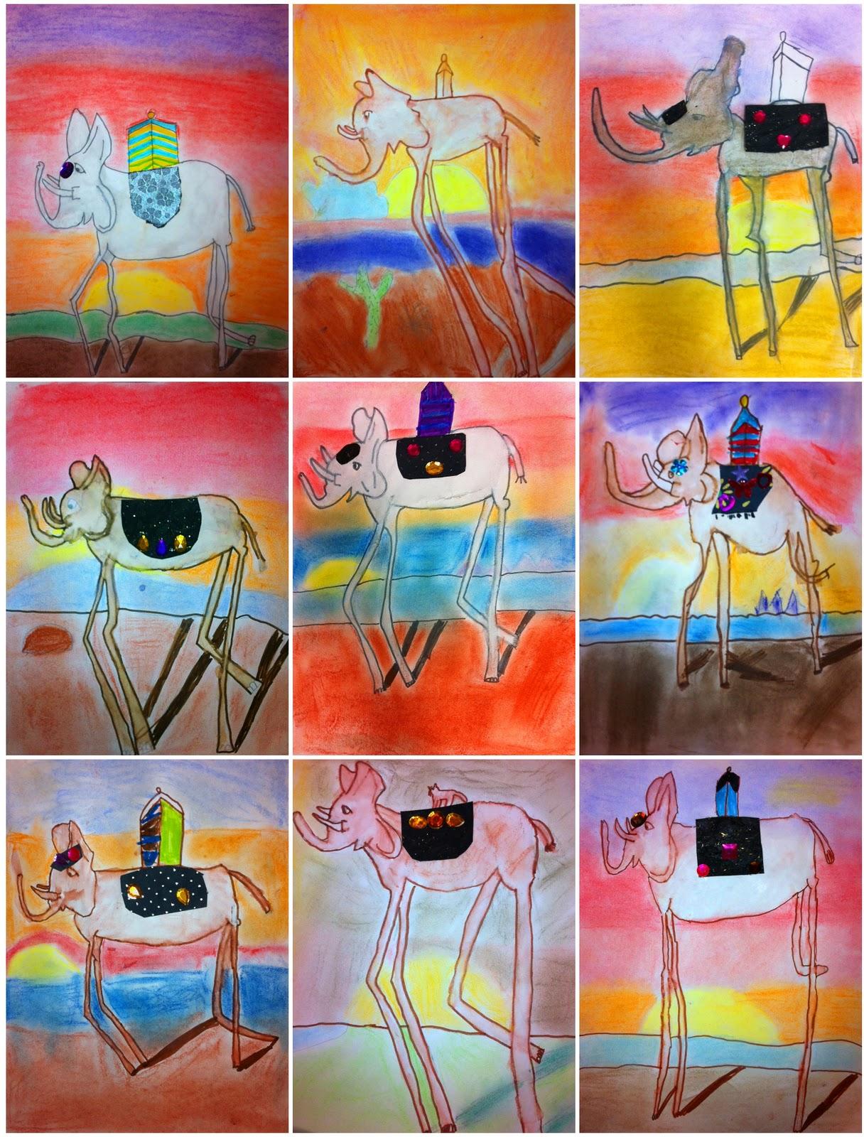 Artisan Des Arts Salvador Dali Elephants
