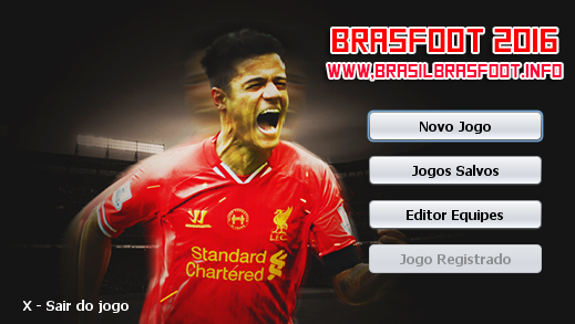 Skin do Philippe Coutinho - Liverpool para Brasfoot 2016