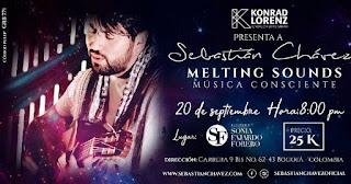 Concierto de Sebastián Chávez en Bogotá